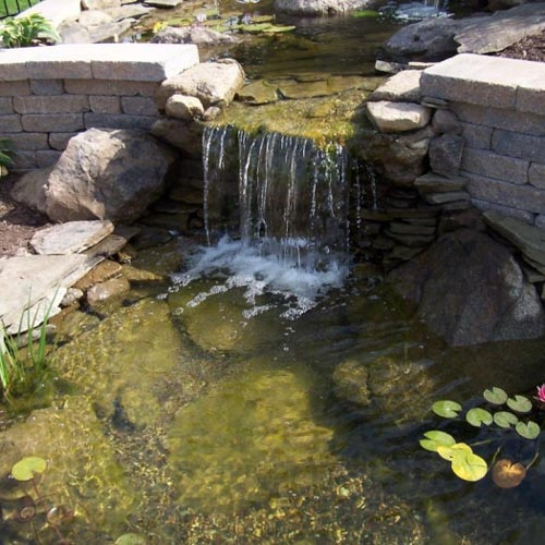 Waterfall Landscaping Rochester